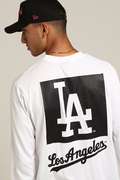 fb56c894b9a Majestic Athletic Los Angeles Dodgers Coldspring LS Tee White
