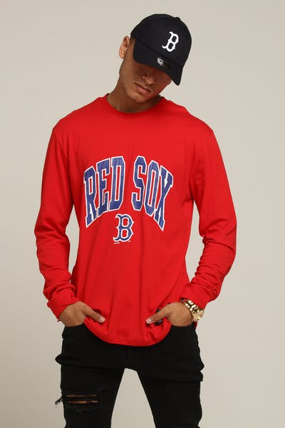 Majestic Athletic Boston Red Sox Zavaller LS Tee Red
