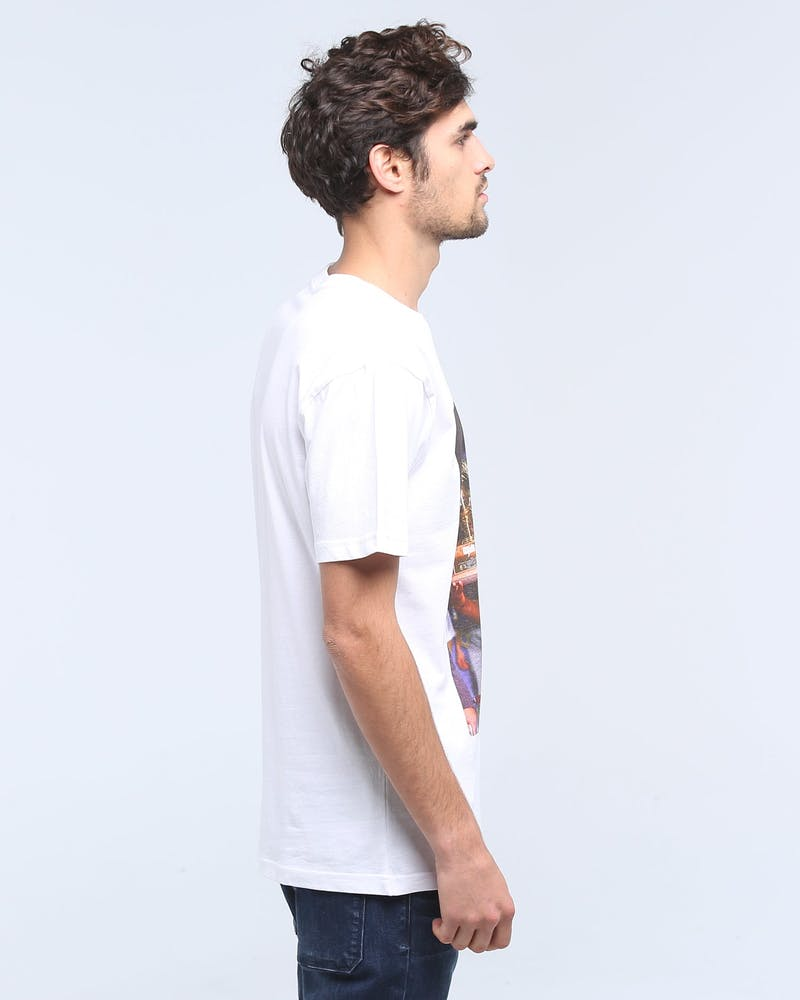 MITCHELL & NESS HAWKS WILKINS OFF COURT SS TEE WHITE