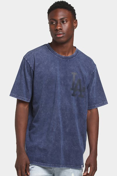 MAJESTIC ATHLETIC LOS ANGELES DODGERS BICESTER SS TEE WASHED NAVY