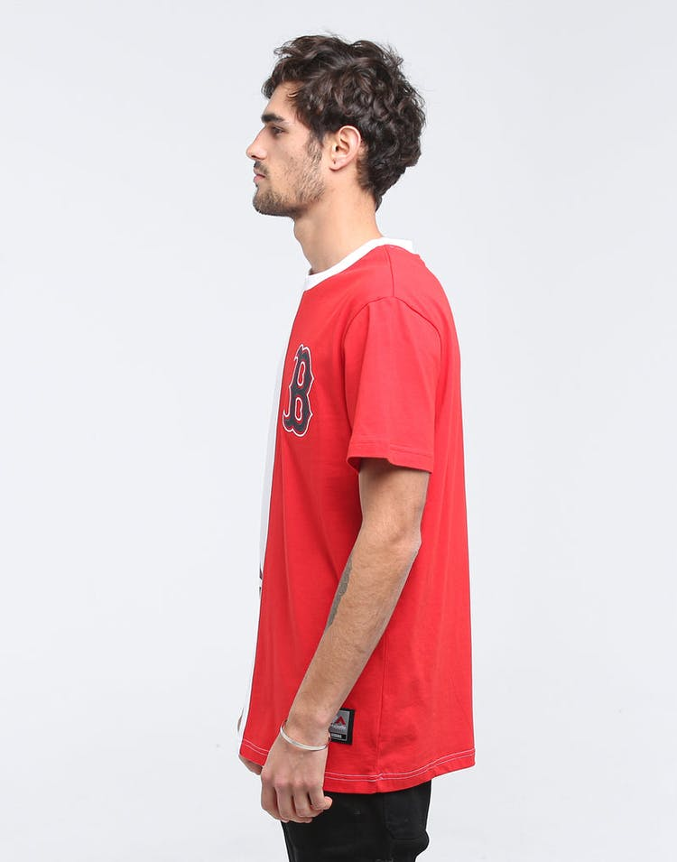 Majestic Athletic Boston Red Sox Split Tee White/Red