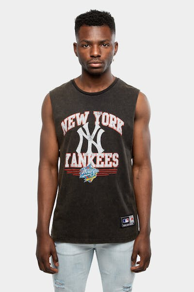Majestic Athletic New York Yankees Whiteman Muscle Black