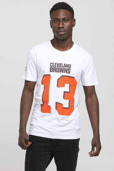 Majestic Athletic Cleveland Browns Odell Beckham Jr. NFL Tee White
