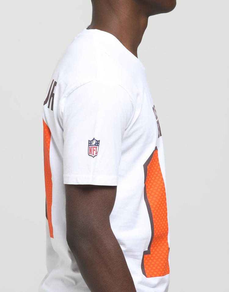 promo code f075f a7887 Majestic Athletic Cleveland Browns Odell Beckham Jr. NFL Tee White