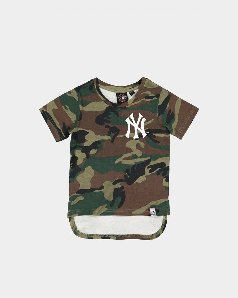MAJESTIC ATHLETIC TODDLER NEW YORK YANKEES BICESTER TEE CAMO