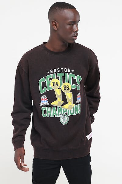Mitchell & Ness Boston Celtics Vintage Champs Crew Black