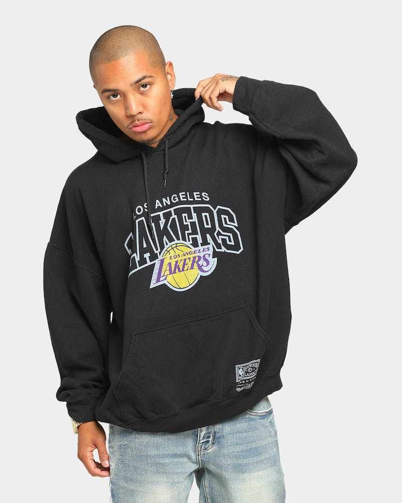 Mitchell & Ness Lakers Vintage Arch OL Hoodie Black