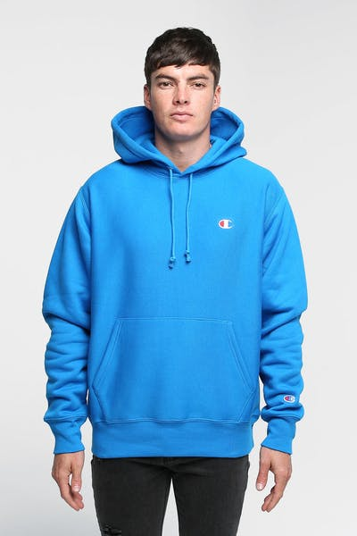 CHAMPION REVERSE WEAVE HOODIE RUNNING WAVES