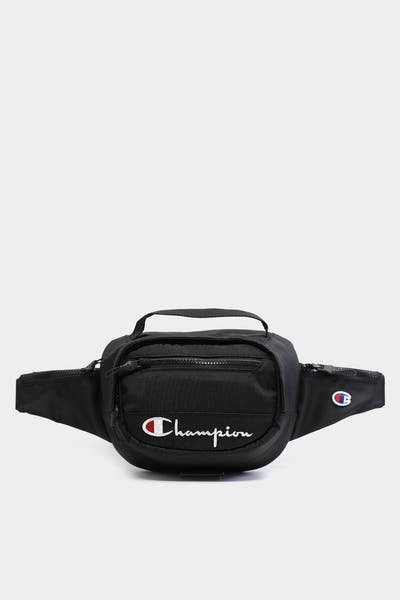 CHAMPION SCRIPT BELT BAG BLACK