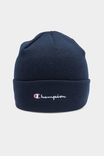 Men's Champion Script Beanie Navy