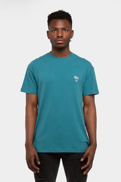 Stussy Copyright Crown SS Tee Ocean