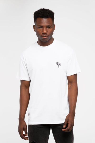 Stussy Copyright Crown SS Tee White