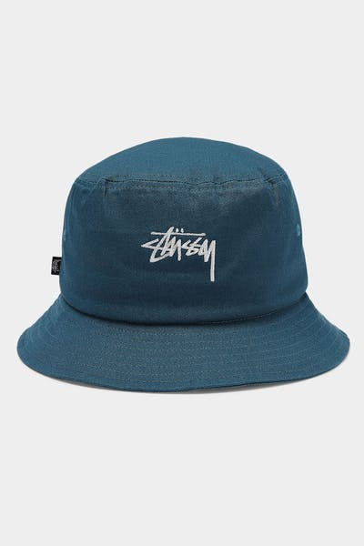 Stussy Stock Bucket Hat Celestial Blue
