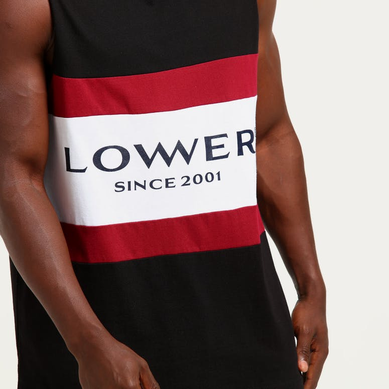 Lower Panel Tank Executive Black/Red/White