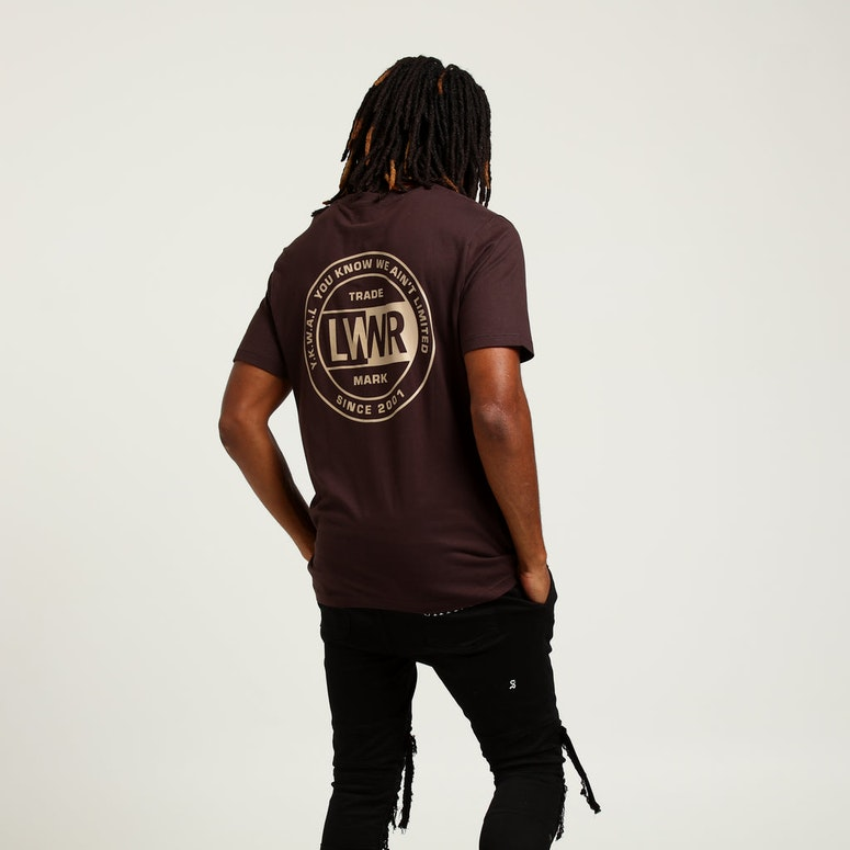 Lower QRS Tee League Brown/Beige