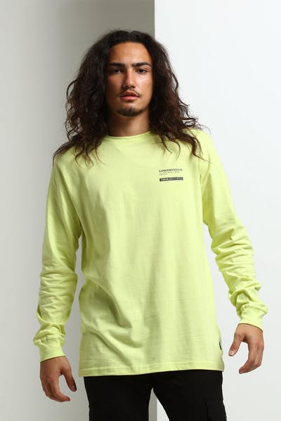 Lower QRS Ray L/S Tee Yellow