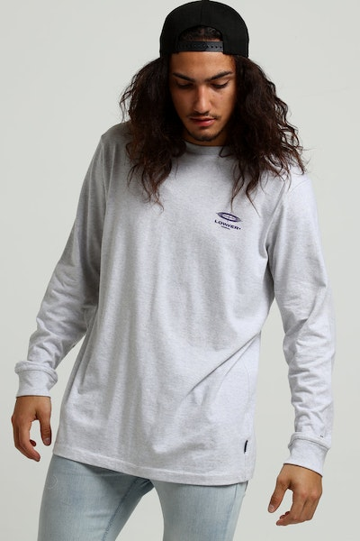 Lower QRS L/S Tee OPS Silver