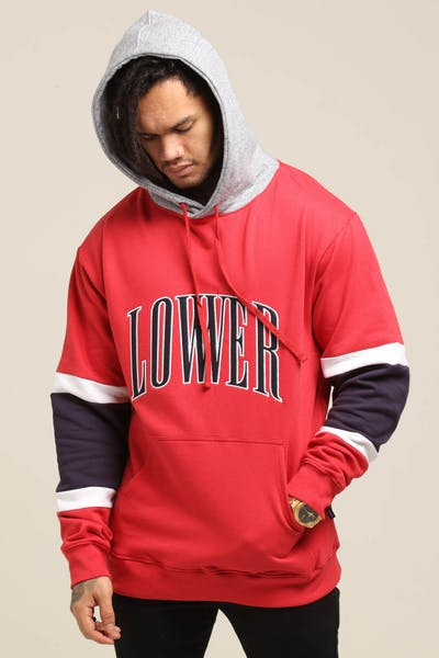 Lower Harvard Enforcer Hood Red