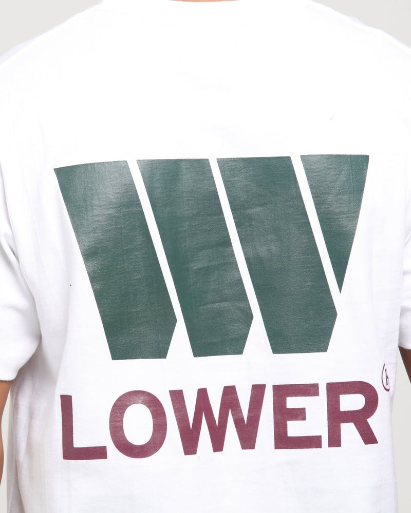 Lower QRS Lotown Tee White