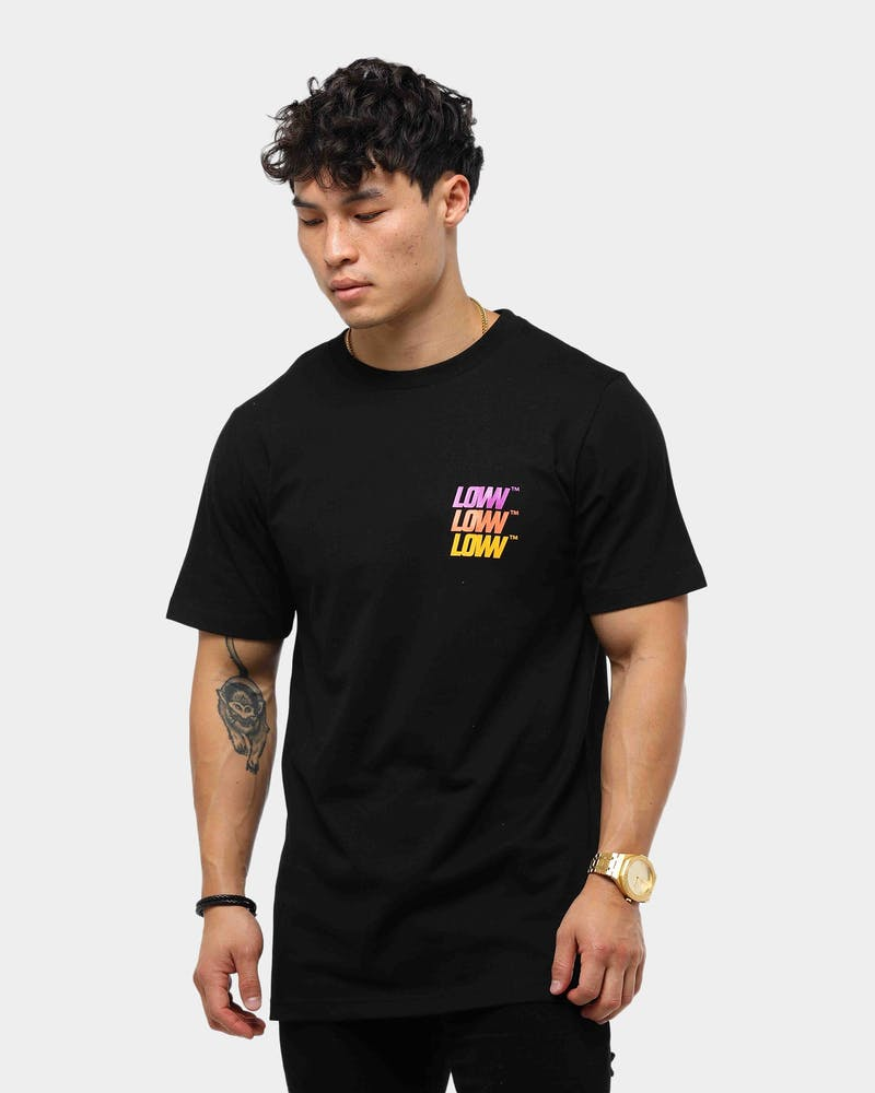 Lower Men's QRS Low Stack Tee Black