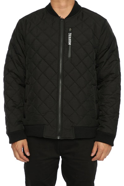 Huffer Insulator Bomber Jacket Black
