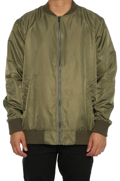 Huffer In And Out Bomber Jacket Military
