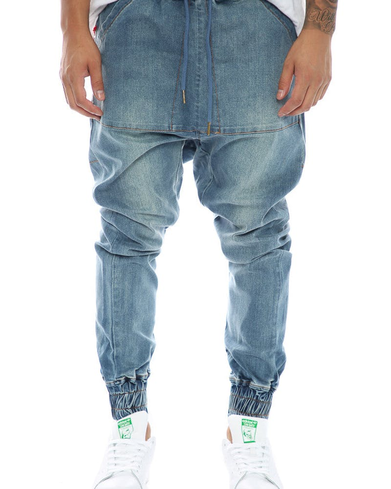 Thing Thing Para Leaner Jean Blue Wash