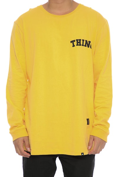 Thing Thing DED LS Tee Yellow