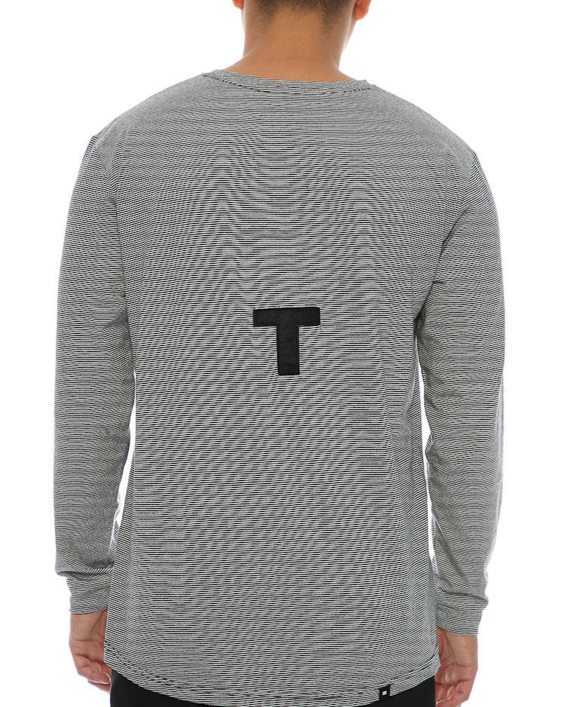 Thing Thing Ded Long Sleeve Tee Black/White