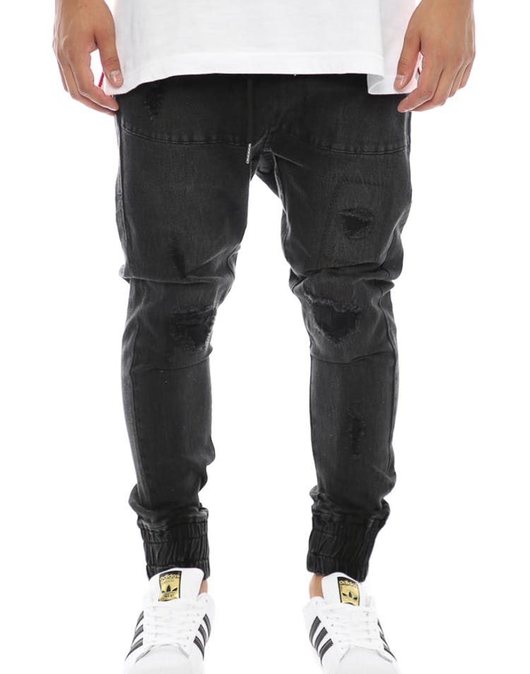 Thing Thing Para Pant Black Wash