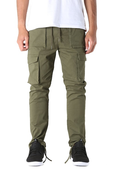 Thing Thing Flank Pant Army Green