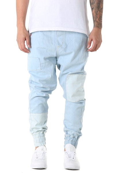 Thing Thing Patched Faker Jean Bleach Wash