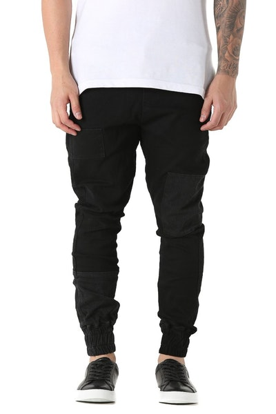 Thing Thing Patched Faker Jean Black Wash