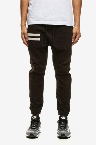 Thing Thing Equals Herringbone Para Pant 2 Black