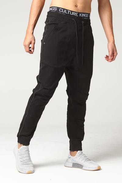 Thing Thing Piped Para Pant 2 Black