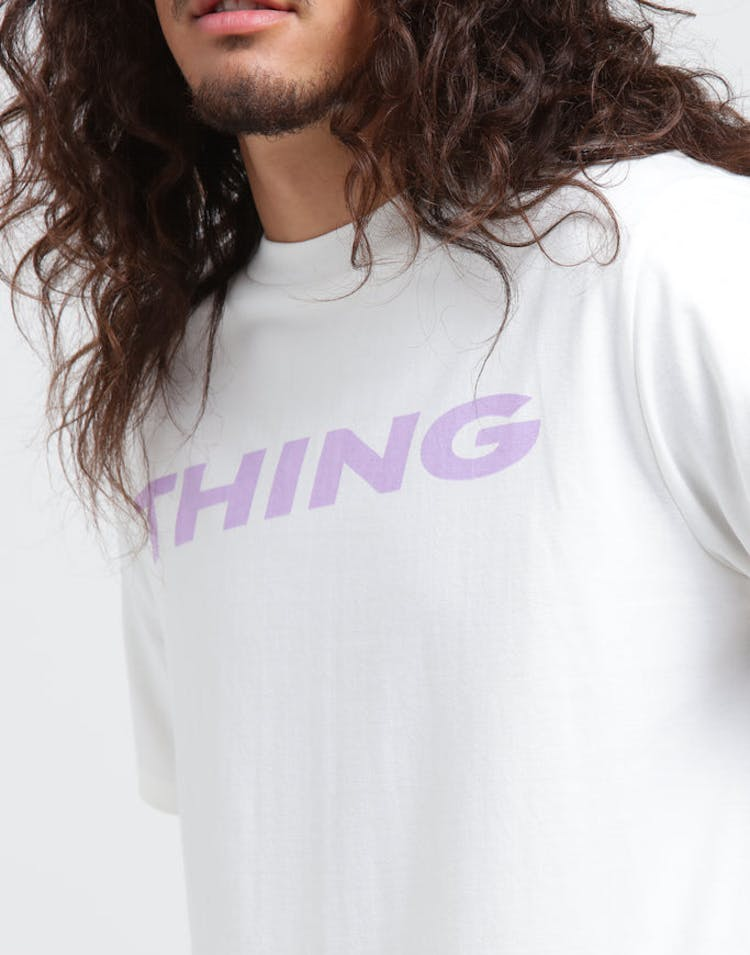 Thing Thing The Mid Tee Slant White