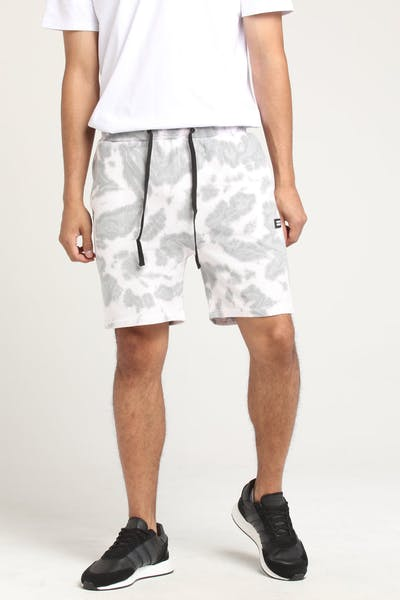 THING THING RONIN JERSEY SHORT Grey Tie-Dye