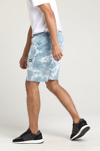 THING THING RONIN JERSEY SHORT Blue Tie-Dye