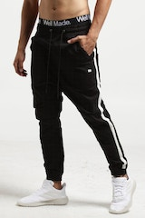 THING THING PARA PANT 2 HB TAPED BLACK/WHITE
