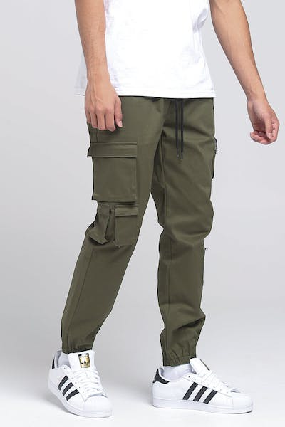 THING THING FREIGHT PANT CADET GREEN