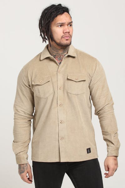 Thing Thing Cord Shirt Tan Cord