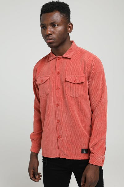 Thing Thing Cord Shirt Rust Cord