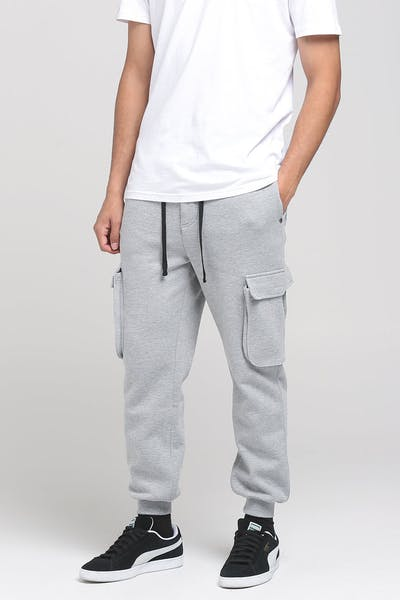 THING THING SET CARGO TRACKIE PANT GREY MARLE