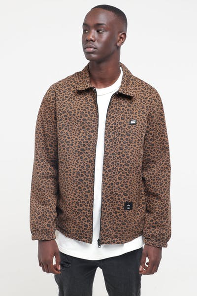 Thing Thing Washed Mach Jacket Leopard
