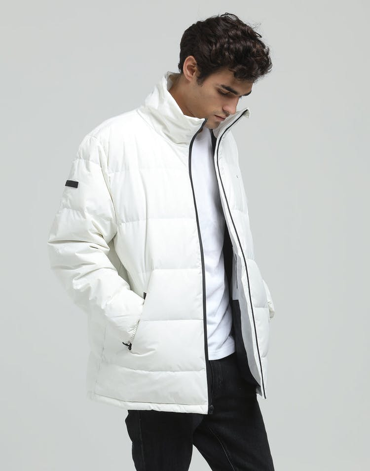 a3faa607d Huffer Track Down Jacket White