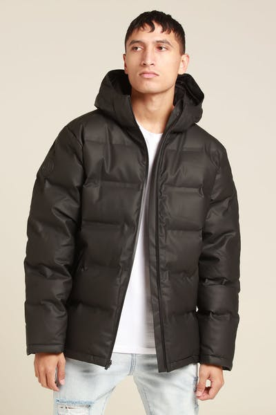 HUFFER X MARVEL SUPERDOWN JACKET BLACK