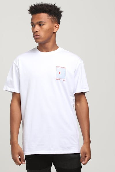 Huffer Half Court Hero Sup Tee White