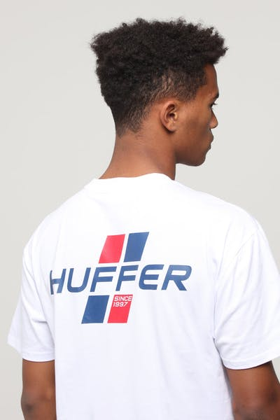 Huffer Drift Sup Tee White