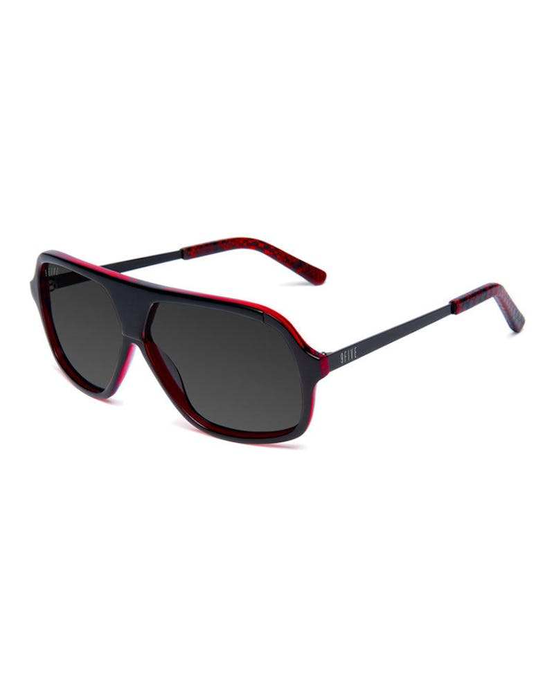 Crowns Sunglasses Black/red