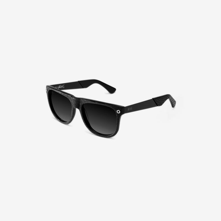 Kls2 Croc Sunglasses Black/red